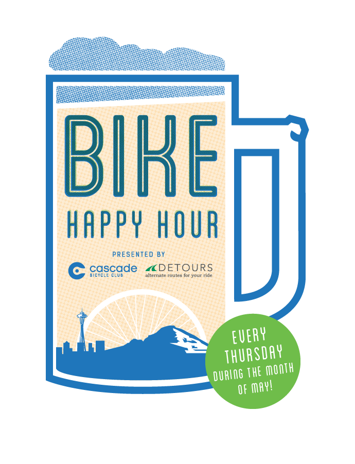 Bike Happy Hour each month