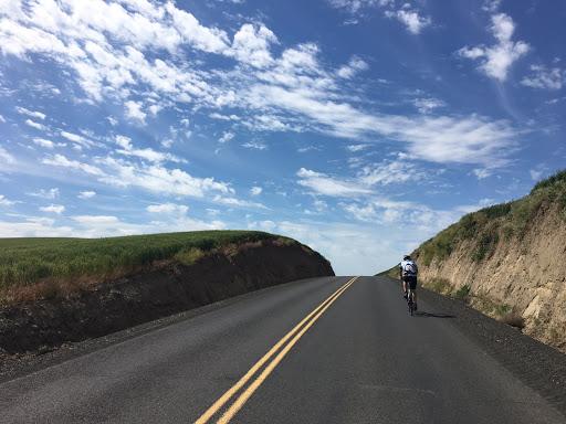 Blue skies along the Walla Walla route