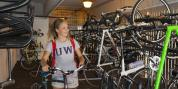 University of Washington is recognized as a Bike Friendly University. Photo credit: Ted Sweeney