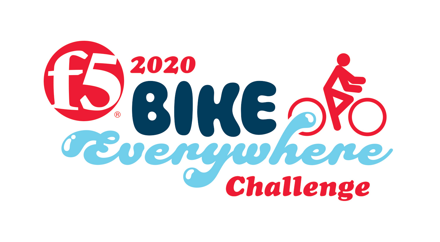 Bike Everywhere Month Challenge Logo