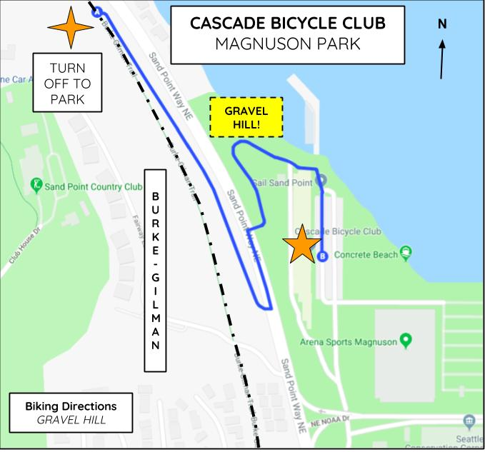 Magnuson Park Seattle Map.Contact Us Cascade Bicycle Club