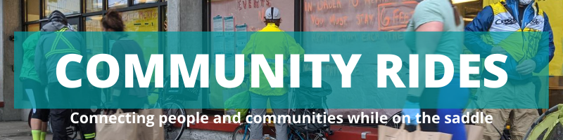Community Rides: connecting people and communities while on the saddle