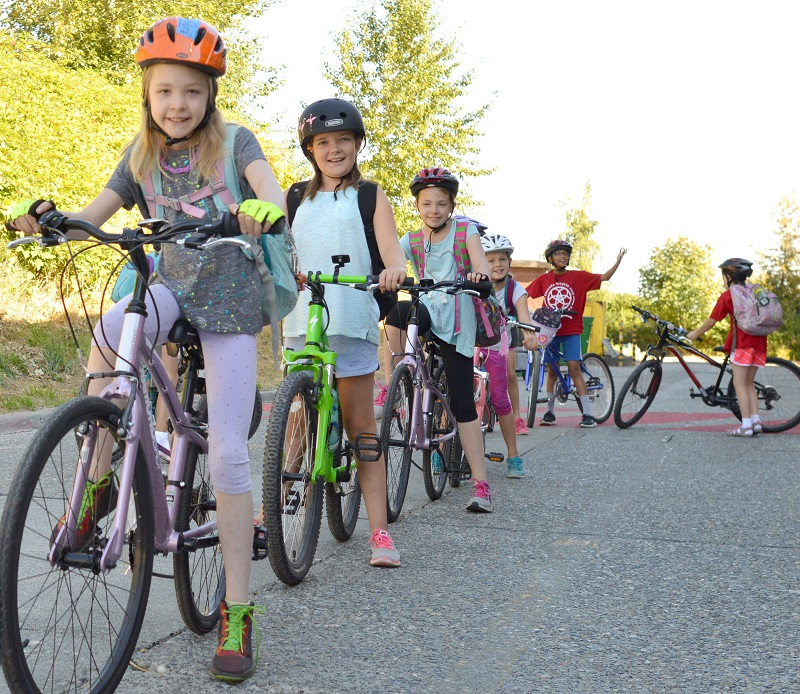 Send a kid to Bike Camp this Summer!