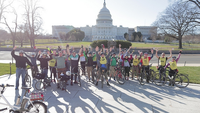 Photo courtesy of the League of American Bicyclists