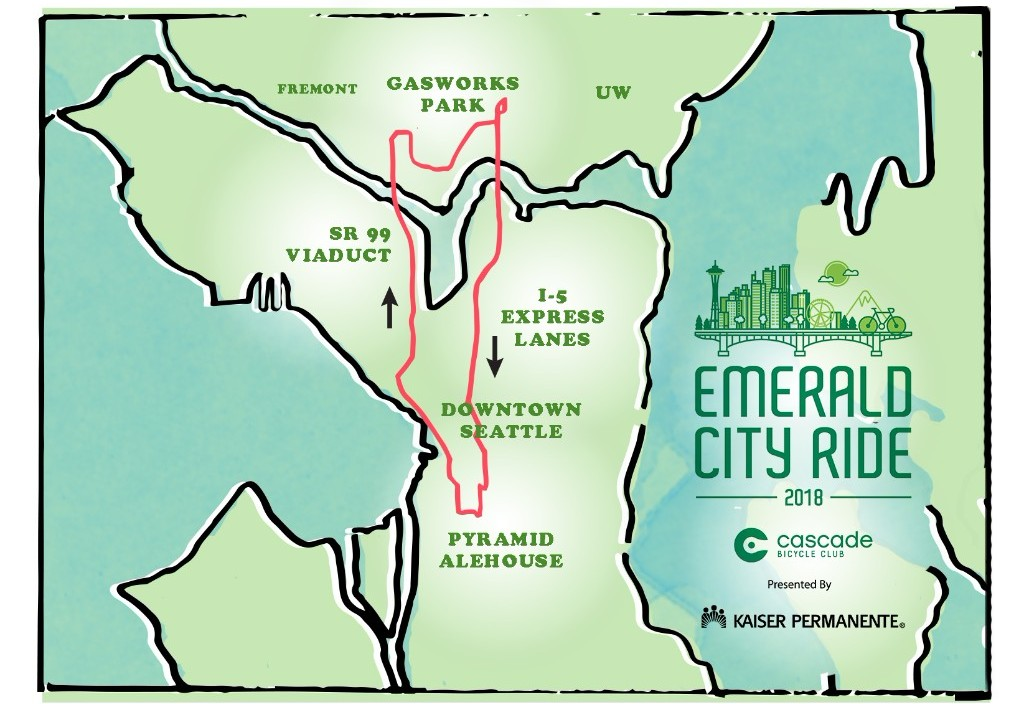 Emerald City Ride Route