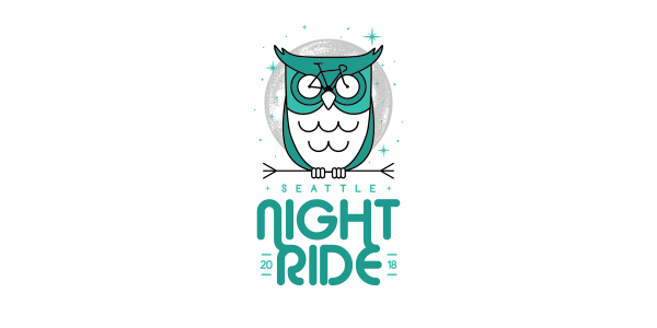 Seattle Night Ride 2018 logo