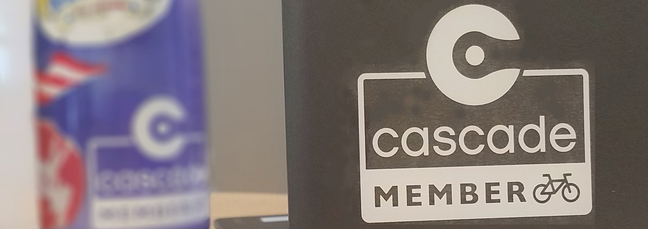 Cascade member decal available May only!
