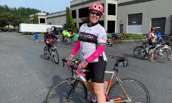 Cascade Outrider on bike