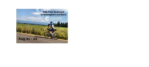A rider passing a mountain range. R2B2 is Aug 21-22.