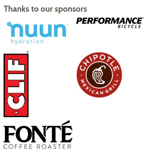 Seattle Night Ride Sponsors