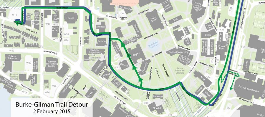 Heads up: Burke-Gilman Trail detour route through UW changes ... on park map, career map, niu campus map, la jolla scripps hospital campus map, tcu campus map, university of washington map, stevens point campus map, wisconsin technical colleges map, uw map.pdf, university of wyoming map, scott and white campus map, uwmc campus map, university of wisconsin map, university of missouri hospital map, montana colleges and universities map, university of montana missoula campus map, u of o map, uw-river falls map, stanford hospital map, football map,