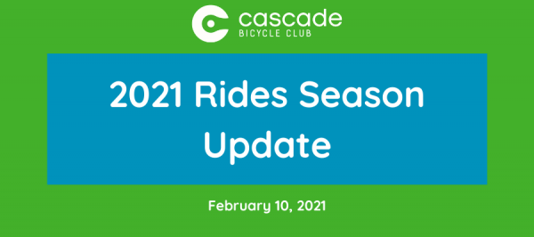 2021 season update