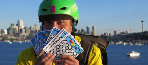 Play Bingo by bike this June 15 - July 31 and win prizes!