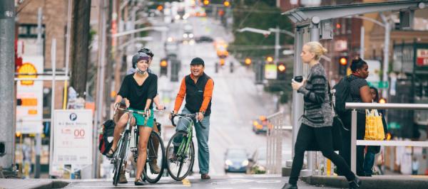 People on Bikes Photo Credit Adam Copalla