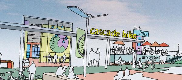 Cascade Bicycling Center, set to open Mid-November