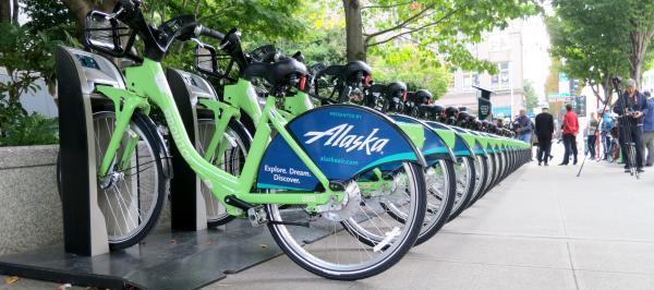 Pronto Cycle Share station