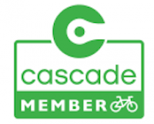green logo reading Cascade member