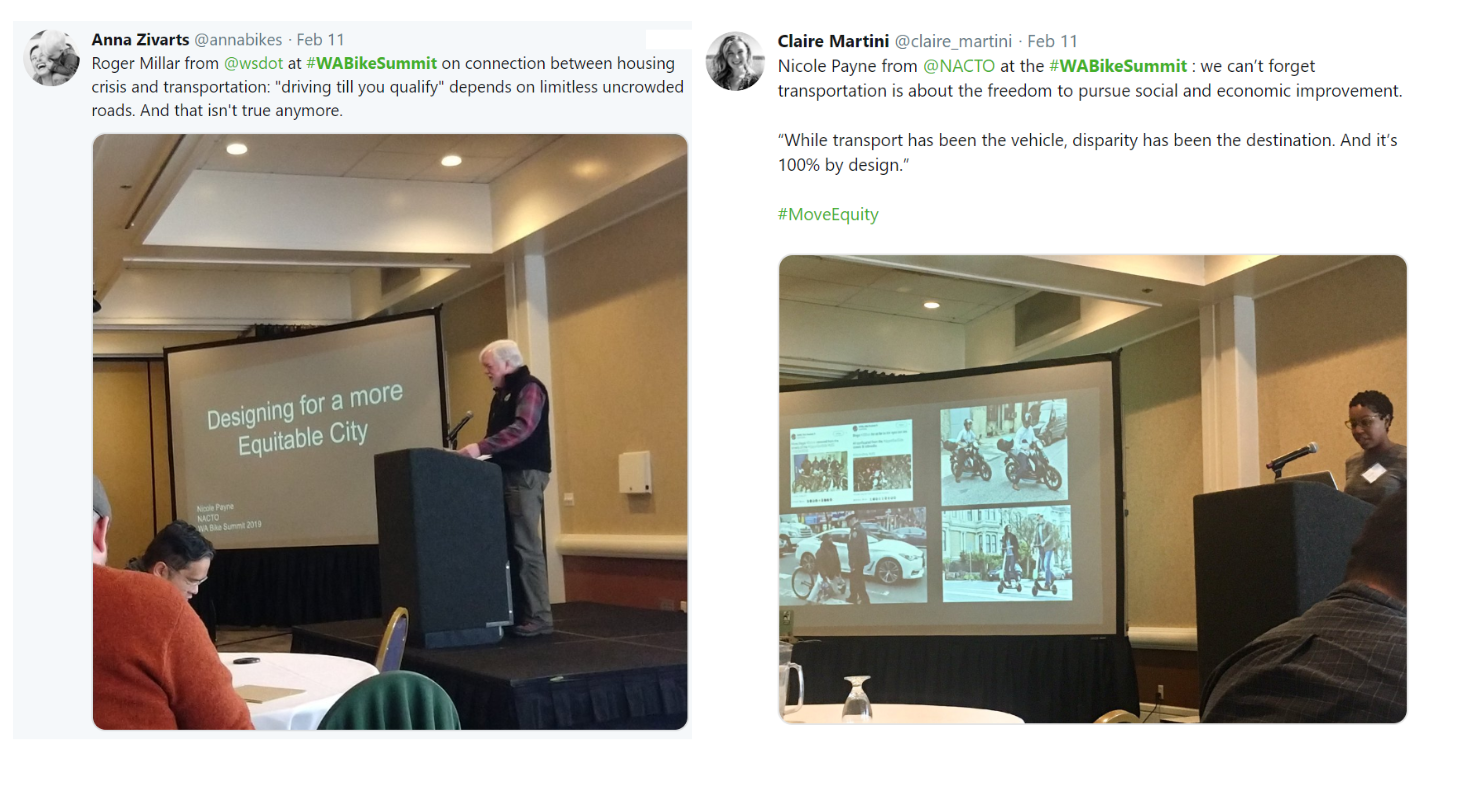2f8606f66d Thank you everyone who attended the Washington Bike Summit! We appreciate  all of our panelists and keynote speakers. We are excited to share  highlights from ...