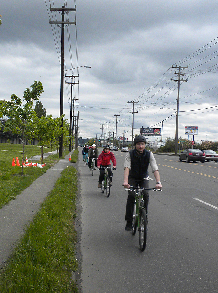 New commuters riding with confidence on West Marginal Way