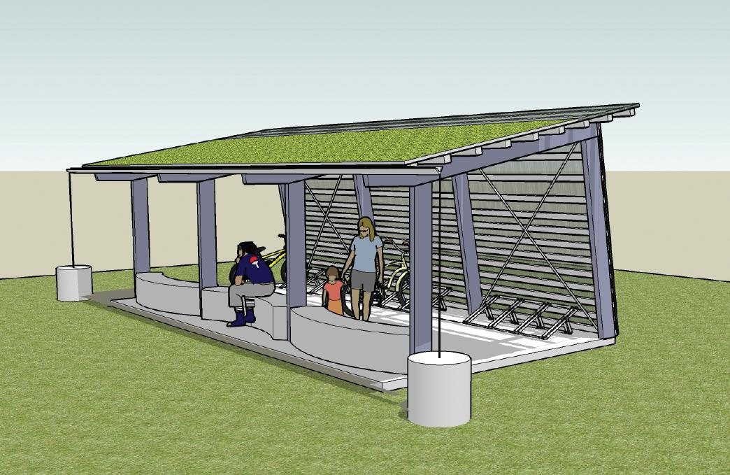 Bike Parking Shelters : We need your construction know how cascade bicycle club