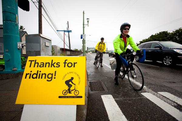 Cascade Bicycle Club Bike to Work Day